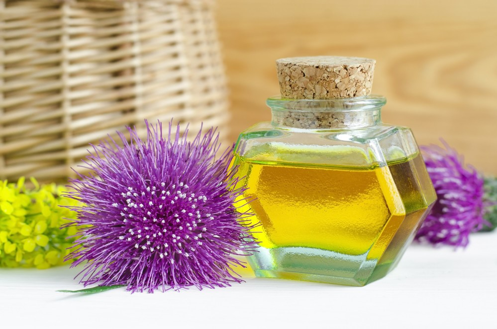 Маска для роста волос с репейным маслом